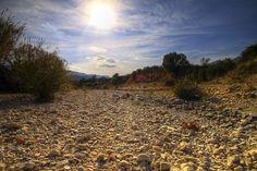 Dry riverbed-Tormos Spain