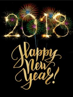 Colorful Explosion Happy New Year Card As if fireworks on New Year's E. - Happy New Year 2019 Happy New Year Message, Happy New Year Cards, Happy New Year 2018, New Year Wishes, New Year Greetings, Merry Christmas And Happy New Year, Birthday Greeting Cards, Birthday Greetings, New Year Card Making