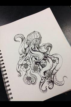 Octopus artwork