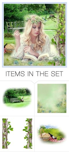 """""""Picnic"""" by taming-kate ❤ liked on Polyvore featuring art"""