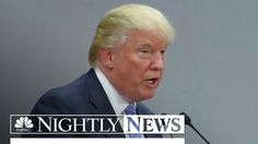 Trump Meets With Mexican President, Says Wall Payment Not Discussed | NB...