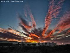 Cielos desde Sant Boi de Llobregat . . . .  Fotógrafa: María José Reyes Maria Jose, Reyes, Clouds, Sky, Celestial, Sunset, Places, Outdoor, Events