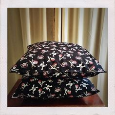 Short Stack Stitches - Pirate Pillows #etsymom