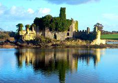 Castle Island, Lough Key, Boyle, County Roscommon, Ireland ~ cool!