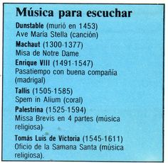 Música del Renacimiento