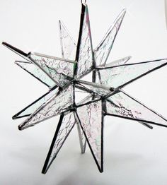 18 Point 3D Stained Glass Moravian Star. Starting at $1 on Tophatter.com!
