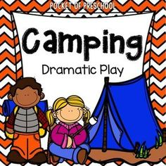How to Set up the Dramatic Play Center in an Early Childhood Classroom - Pocket of Preschool Camping Dramatic Play, Dramatic Play Themes, Dramatic Play Area, Dramatic Play Centers, Creative Curriculum, Preschool Curriculum, Kindergarten, Preschool Teachers, Preschool Art