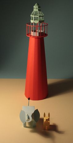 fideli sundquist's lovely 3-D characters