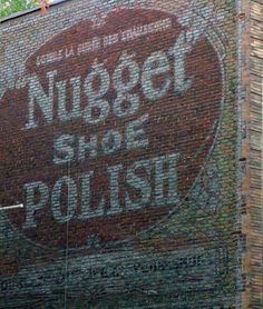One of the many faded signs of Montreal by guylaine_lheureux, via Flickr