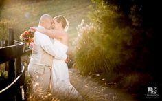 A fall wedding at The Stable at Bluemont Vineyard.