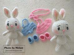 Macaroon Bunnies Amigurumi Pattern Pattern By Melani Facebook: Yekkia Moniq (https://www.facebook.com/yekkiamoniq.sayitwithcookies) I...