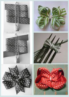 Easy DIY Bow Pictures, Photos, and Images for Facebook, Tumblr, Pinterest, and Twitter
