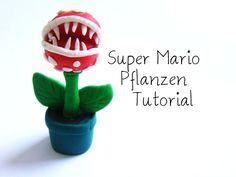 Super Mario Pflanzen Fimo Anleitung