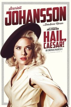Hail, Caesar! - Scarlett Johansson poster