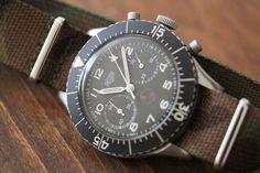 RETROSPECT: Heuer Bundeswehr Chronograph