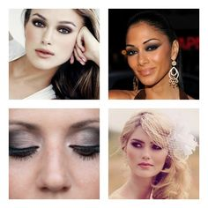 Smokey Eye Inspiration on itsabrideslife.com/Wedding Makeup/Bridal Makeup