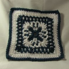 Winter Wonder Granny Square: free pattern