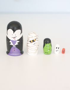 The Alison Show: Halloween Nesting Dolls