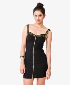 Studded Bodycon Dress | FOREVER21 - 2040495073