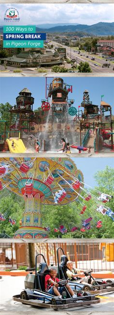Find family fun this Spring Break in #PigeonForge, TN!