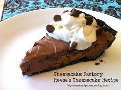 Cheesecake Factory Reese's Cheesecake Copy Recipe