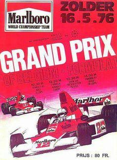 Belgian Grand Prix 1976 programme