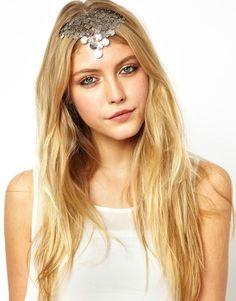ASOS | ASOS Coin Fringe Headband at ASOS