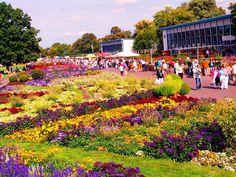 Ega Cyriaksburg Erfurt (flower garden set in a large park) -  Erfurt, Germany