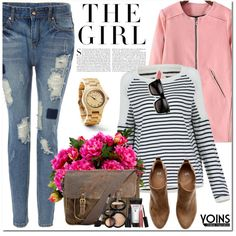 Yoins by oshint on Polyvore featuring H&M, Patricia Nash, Laura Geller, New Growth Designs, Kershaw, vintage and yoins