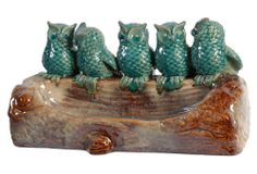 Perched Birds Objet | Spring Steals | One Kings Lane