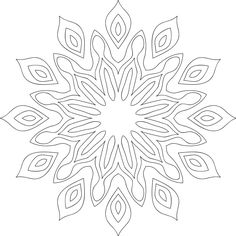 168 Best Printable Mandalas To Color Free Images