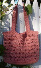 Lacy V Market Bag - CAP's Crochet & Crafts