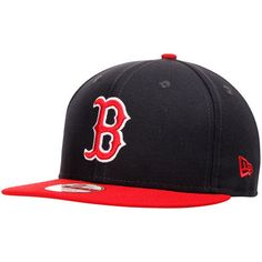be8a05c26d2 Boston Red Sox New Era Bind Back 9FIFTY Adjustable Hat - Navy