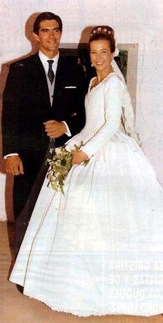 Cristina de Borbon Two-Sicilies, wearing the family tiara