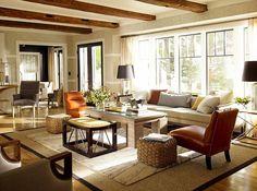 Thom Filicia's Skaneateles Lake House Exudes Rustic Simplicity