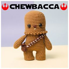 ONPOKI CHEWBACCA Star Wars - chewie CROCHET