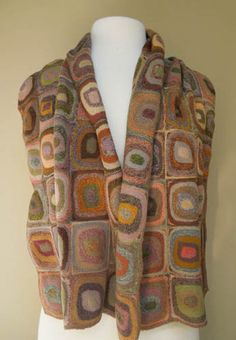 Entire page of Sophie Digard scarves - gorgeous...