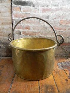 18th Century Large Cauldron Kettle