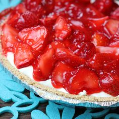 Skinny Strawberry Pie | Skinny Mom | Where Moms Get The Skinny On Healthy Living