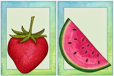 "Englisch in der Grundschule: Flashcards ""fruit"" English Classroom, Classroom Language, Languages Online, Foreign Languages, Speaking Games, Fruit Illustration, Woodland Party, Holiday Cocktails, English Lessons"