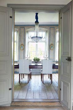 Doors, cool hinges, hardware  Swedish Interiors by Eleish van Breems: Lars Bolander's Scandinavian Design