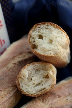 Julia Child's French Bread: Bâtards {#CookforJulia #BakeYourOwnBread} via @girlichef