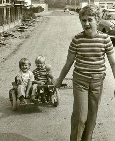 YippieYo Crossbuggy der 70er - schon damals der Geländerkinderwagen für zwei.