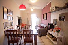 Informe publicitário: Sala é transformada com pintura e novos móveis - Casa