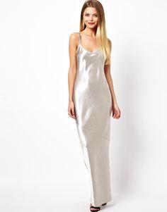 ASOS Crepe Satin Cami Maxi Dress