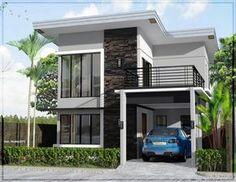 Model Desain Rumah Minimalis 2 Lantai Modern Sederhana 6x 9