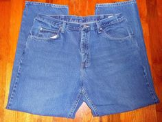 #12.99 OBO Wrangler Relaxed Fit Jeans Men's 36X30 97601DR Very Good Condition #Wrangler #Relaxed