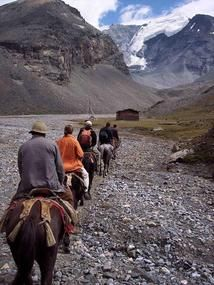 Songpan horse trekking. How can i forget all those singing, camp fire nights, presents i received from the Tibetan guide?