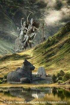 சிவசிவ Shiva Tandav, Shiva Parvati Images, Shiva Linga, Shiva Statue, Shiva Art, Durga Images, Lord Ganesha Paintings, Lord Shiva Painting, Lord Durga