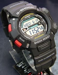 c785262de25 CASIO G Shock G 9000 1V Mudman Men s Watch Mud Master - casual watches